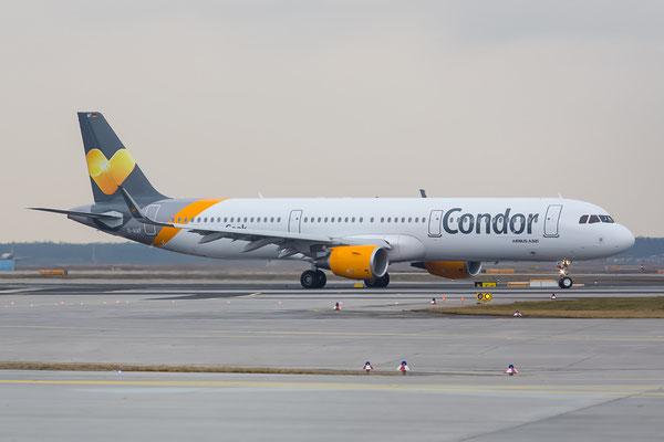 FRA 22.02.2015; D-AIAF A321-211(WL) Condor