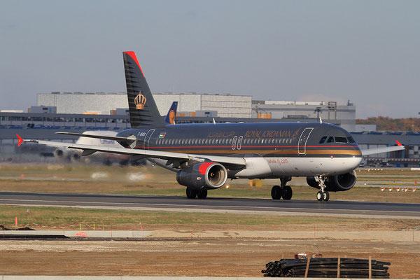 FRA 28.10.2012; F-OHGX Airbus A 320 Royal Jordanian Airlines