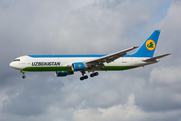 FRA 04.03.2015; UK67001; B767-33PERF Uzbekistan Air Cargo