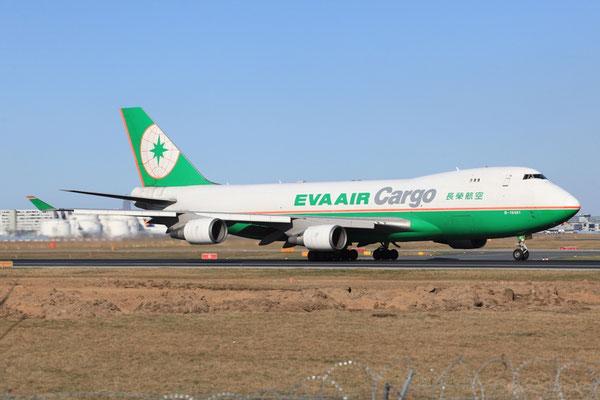FRA 25.03.2012; B16481 Boeing 747-400F (SCD) Eva Air Cargo