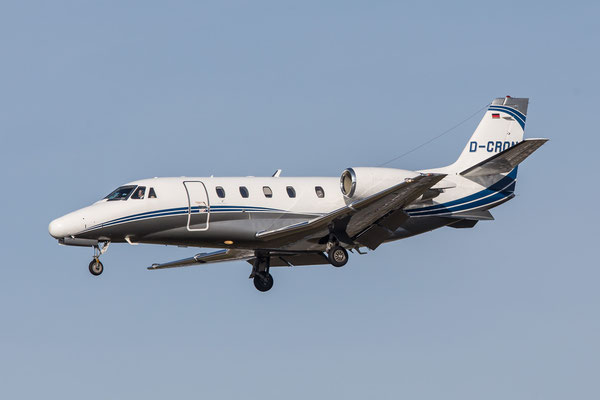 FRA 06.02.2016; D-CRON, Silver Cloud Air Cessna Citation 560XLS