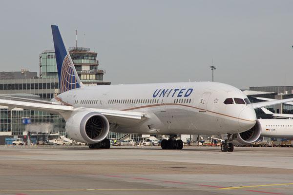 FRA 07.03.2015;N26910; Boeing 787-8 United Airlines