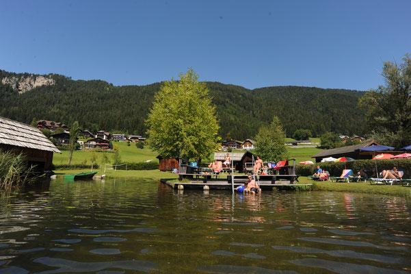 Badeurlaub am Weissensee