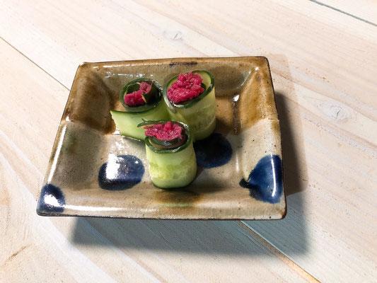 ルバーブと生姜の佃煮(塩麹入り)