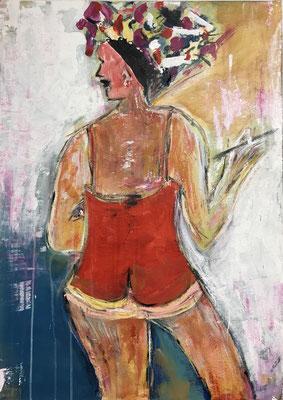 Burlesque 50 x 70 cm