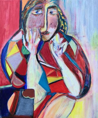 Dame nach Picasso