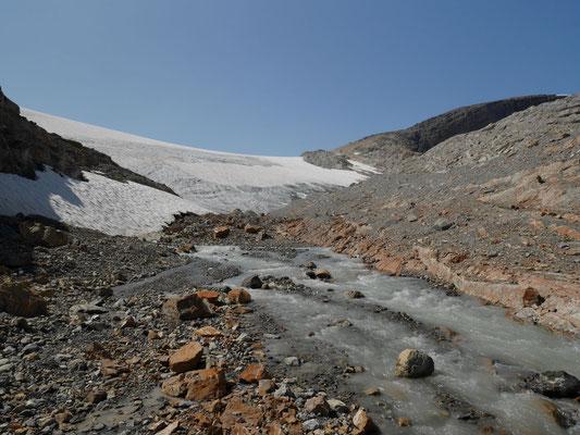 Weiter zum Wapta Icefield