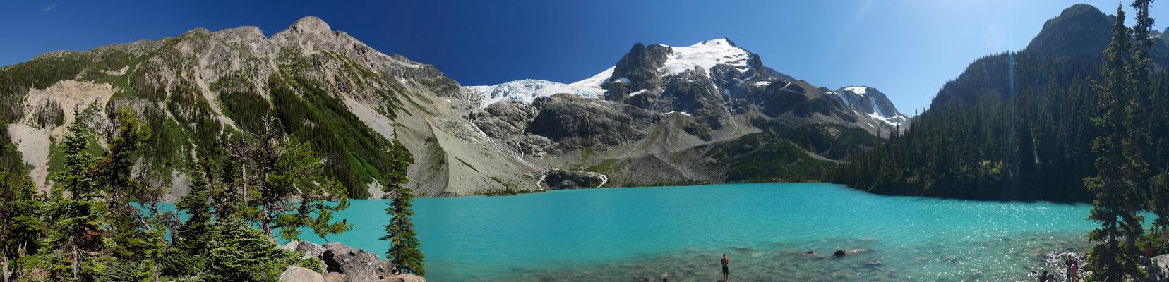 Panorama am dritten See