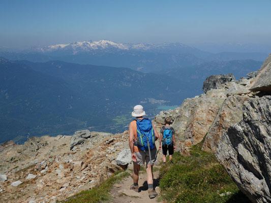 Start auf den High Note Trail