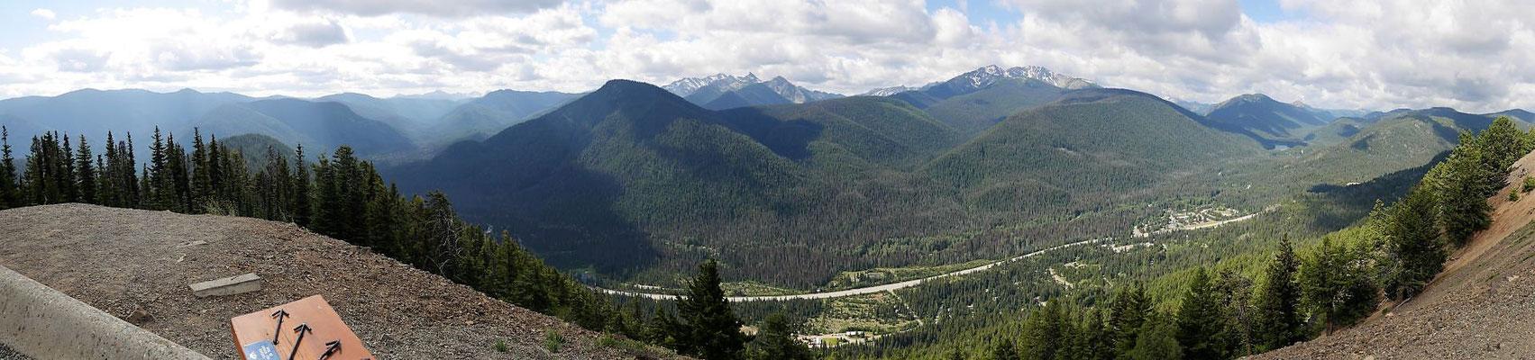 Aussicht in die Cascade Range