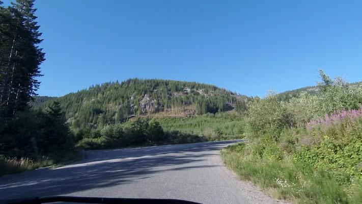 Kanadische Holzeinschlagsgegend