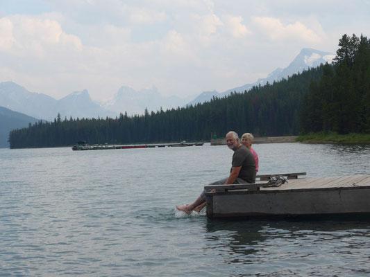 Abkühlung am See
