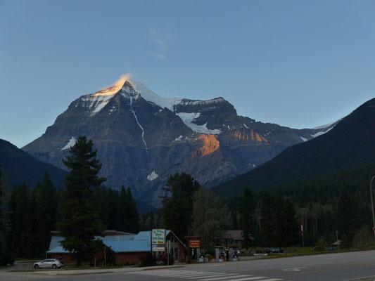 und auch der Mt. Robson ist endlich zu sehen