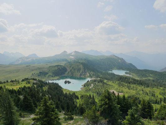 Blick zum Grizzly Lake