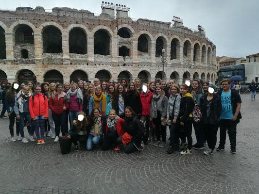 Unsere Abschlussklassen in Verona