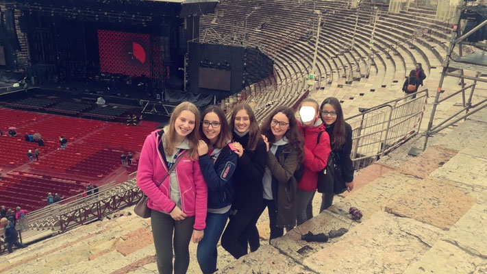 In der Arena von Verona