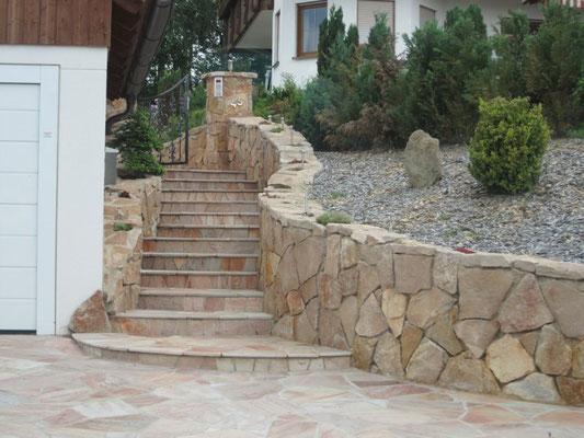 Eingangsbereiche, GaLaBau, Gartenbau, Garten- und Landschaftsbau