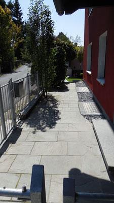 Naturstein Eingangsbereich