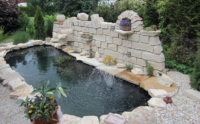 Teichanlagen, GaLaBau, Garten- und Landschaftsbau, Gartenbau
