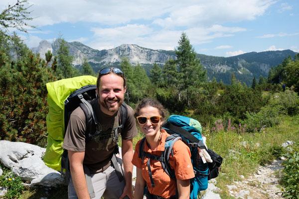 Auf geht es zur - Sieben Seen Wanderung - im Triglav Nationalpark