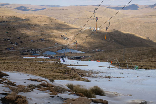 Skigebiet an der AfriSki Lodge
