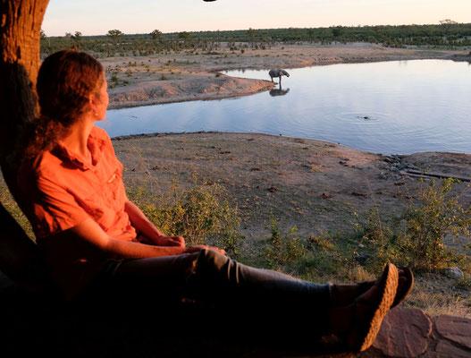 zelten am Masuma Dam
