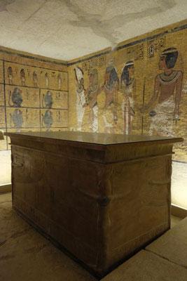 Replik der Grabkammer von Tutelchamoun