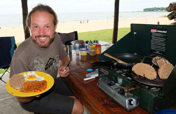 ...und dann ein Full English Breakfast...