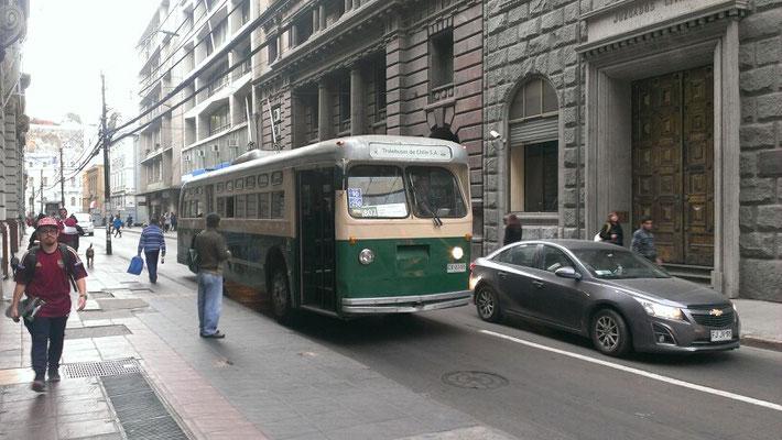nostalgischer Transport in Valparaiso