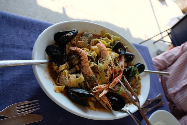 Istrien - Trget : Das Beste Frutti di Mare ever im Restaurant Martin Pescador