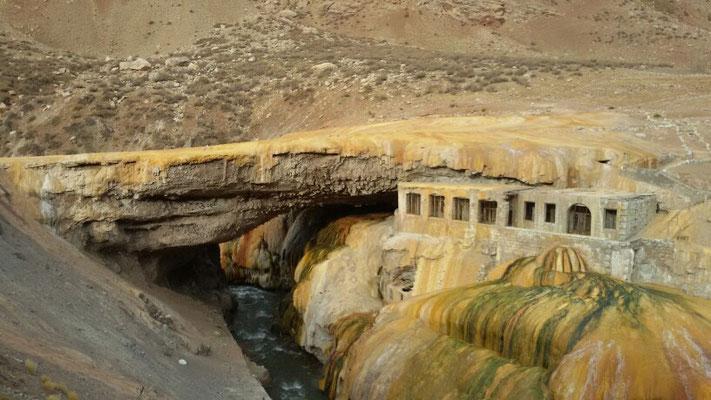 Punte del Inka...eine beeindruckende Naturbruecke