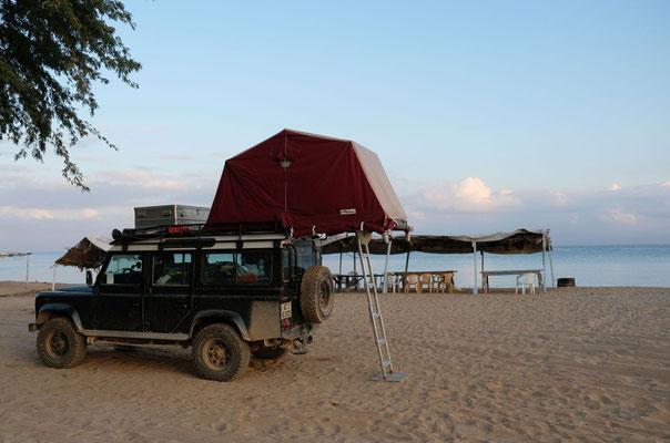 Endlich wieder camping am Strand