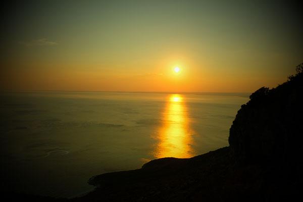 Sonnenuntergang auf Cres