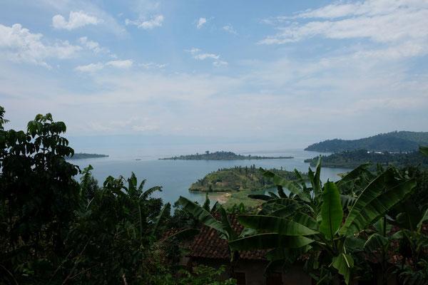 Aussichten auf den Kivu See