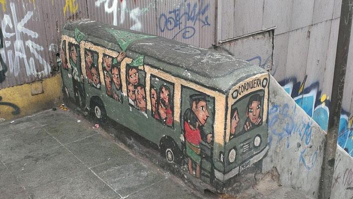 el autobus verde
