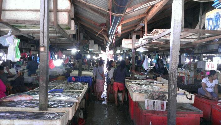 Fischmarkt in Jimbaran