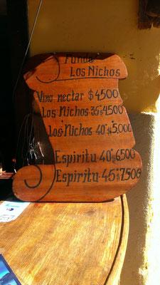 gekauft!!! 1 Flasche Pisco bitte!