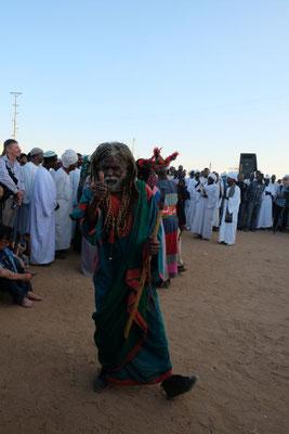 Sufi- oder Derwisch Tanz am Hamed al Nil Tomb in Omdourman - Schalch Hamed al Nil war im 19 Jh das Oberhaupt des Qadiriyah Ordens