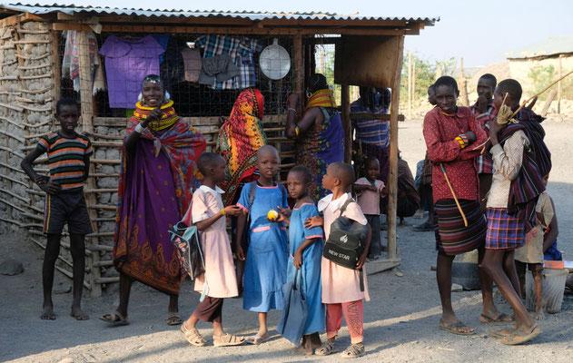 der Erste Ort den wir erreichten: Lonyangalani