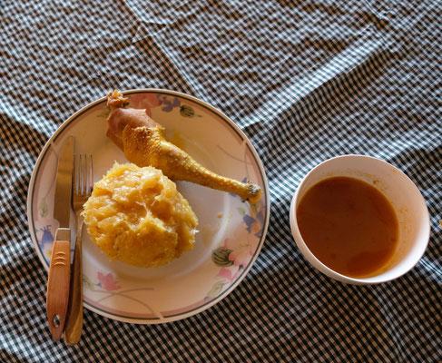 Matoke - ähnlich unserer Kartoffel im Geschmack