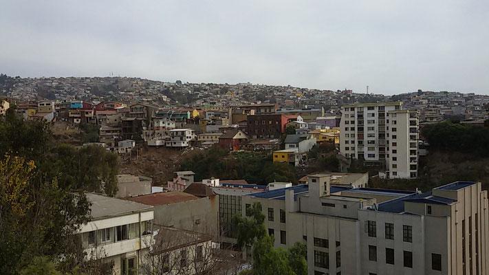 wunderschönes buntes Valparaiso
