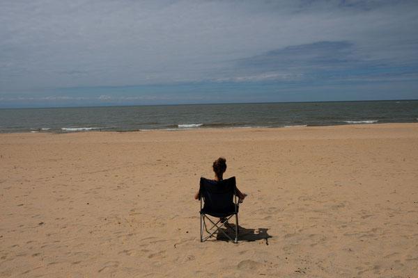 Entspannende Einsamkeit