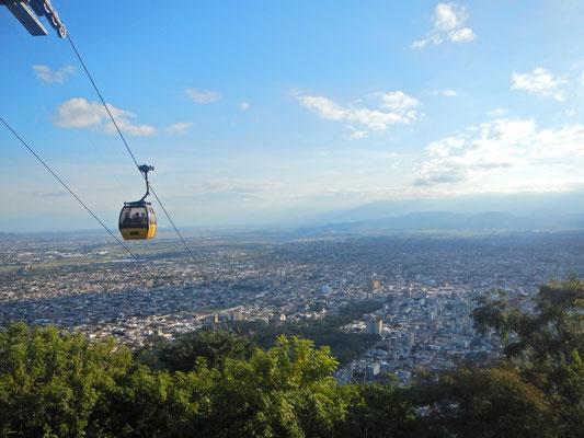 Cerro San Bernado... Natuerlich zu Fuss gemacht!!! :-)