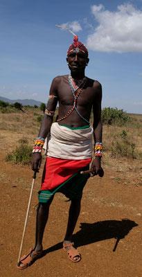 ein Samburu Krieger....