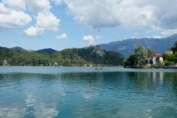 Lake Bled mit der sehenswerten Burg