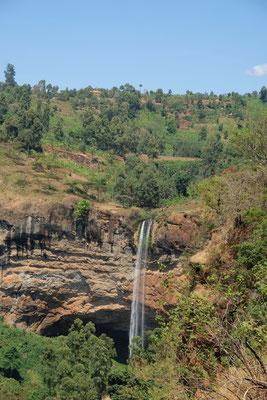 Der bekannteste Wasserfall an den Sipi Falls...