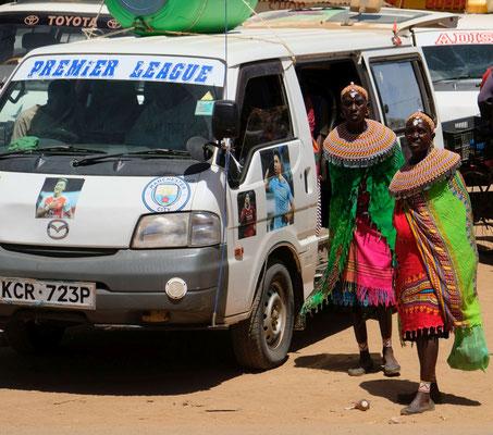 Maralal... die größte Stadt im wilden Norden von Kenya