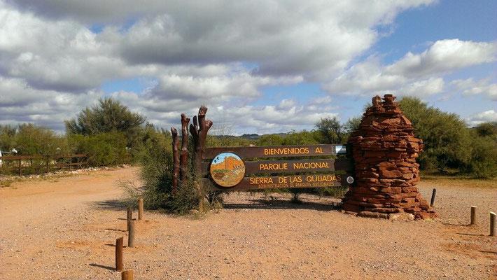 ...nach 150 km...dank der netten argentinischen Fernfahrer Ziel erreicht!!!
