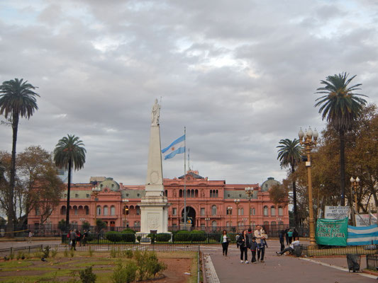Casa Rosada das weisse Haus von Argentinien