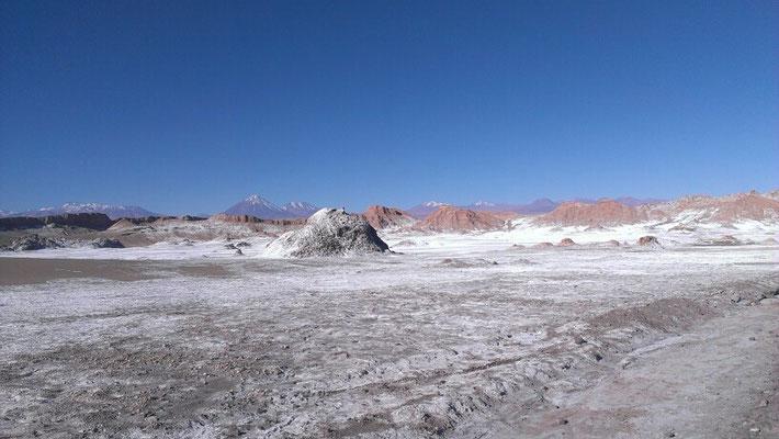 die Atacamawueste, die trockenste Wueste der Welt